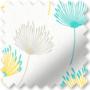Imogen Lemon - Floral Pattern Roller Blind