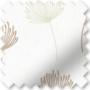 Imogen Nude - Floral Pattern Roller Blind