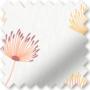 Imogen Orange - Floral Pattern Roller Blind