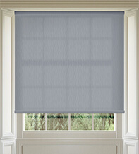 Maisie Mid Grey - Patterned Roller Blind