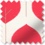 Primal Red - Patterned Roller Blind