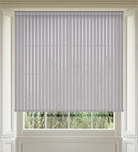 Stripe Grey - Sheer Voile Roller Blind