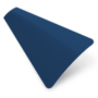 Precision Blue Gloss – 25mm Slat Venetian Perfect Fit Blind