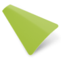 Precision Lime Green – 25mm Slat Venetian Perfect Fit Blind
