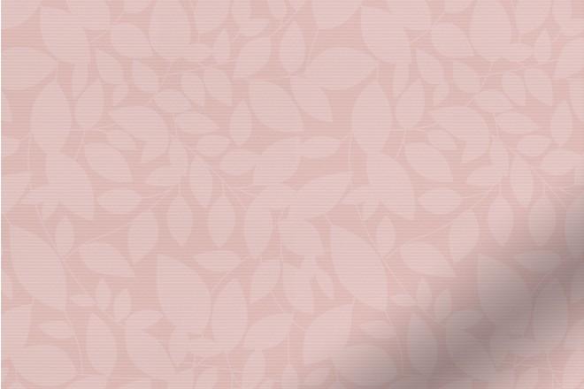 Beauty Blush - Leaf Pattern Waterproof Blackout Vertical Blind