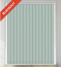 Beauty Green - Leaf Pattern Waterproof Blackout Vertical Blind