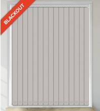 Beauty Grey - Leaf Pattern Waterproof Blackout Vertical Blind