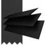 Maine 50 Black - 50mm Slat Wooden Venetian Blind Charcoal Tape
