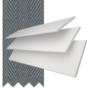 Charisma 35 BW Fine Grain - 35mm Slat Faux Wood Blind Slate Tape