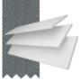 Charisma 35 Bright White - 35mm Slat Faux Wood Blind Slate Tape