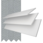 Charisma 35 Bright White - 35mm Slat Faux Wood Blind Steel Tape