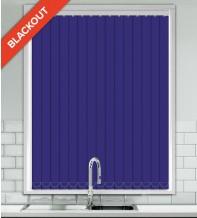 Code Royal Blue - Waterproof Blackout Vertical Blind