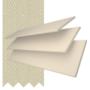 Charisma 35 Cream Fine Grain - 35mm Slat Faux Wood Blind Ecru Tape