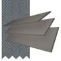 Charisma 35 DG Fine Grain - 35mm Slat Faux Wood Blind Slate Tape