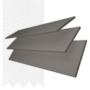 Charisma 50 DG Fine Grain - 50mm Slat Faux Wood Blind Super White Tape