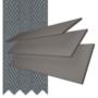 Charisma 35 Dark Grey - 35 mm Slat Faux Wood Blind Slate Tape