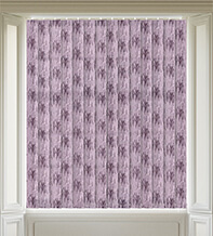 Elise Purple - Textured Vertical Blind