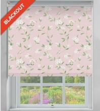 Finch Pink Pastel - Floral Pattern Blackout Roller Blind
