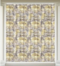 Fusion Yellow - Patterned Vertical Blind
