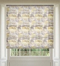 Fusion Yellow - Patterned Roller Blind