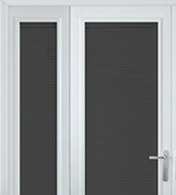 Precision Dark Grey Gloss – 25mm Slat Venetian Perfect Fit Blind