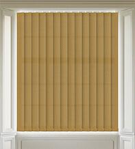 Hive Gold - Patterned Vertical Blind