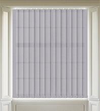 Hive Grey - Patterned Vertical Blind