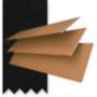 Morgan Honey - 50mm Slat Wooden Blind Black Tape