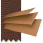 Morgan Honey - 50mm Slat Wooden Blind Coffee Tape