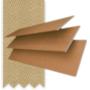 Morgan Honey - 50mm Slat Wooden Blind Hessian Tape