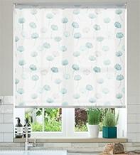 Imogen Marina - Floral Pattern Roller Blind