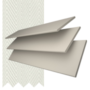 Charisma 35 Ivory - 35mm Slat Faux Wood Blind Chalk Tape