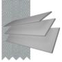 Charisma 35 Light Grey - 35mm Slat Faux Wood Blind with Steel Tape