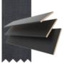 Maine 50 Black - 50mm Slat Wooden Venetian Blind Dusk Tape