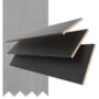 Maine 50 Black - 50mm Slat Wooden Venetian Blind Shadow Tape