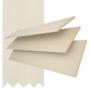 Maine 50 Cream - 50mm Slat Wooden Venetian Blind Linen Tape