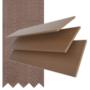 Maine 50 Dark Oak - 50mm Slat Wooden Venetian Blind Canvas Tape