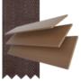 Maine 50 Dark Oak - 50mm Slat Wooden Venetian Blind Husk Tape