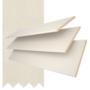 Maine 50 Ivory - 50mm Slat Wooden Venetian Blind Linen Tape