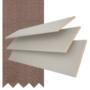 Maine 50 Light Grey - 50mm Slat Wooden Venetian Blind Canvas Tape