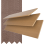 Maine 50 Light Oak - 50mm Slat Wooden Venetian Blind Canvas Tape