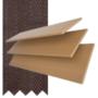 Maine 50 Light Oak - 50mm Slat Wooden Venetian Blind Husk Tape