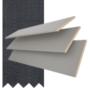 Maine 35 Mid Grey - 35mm Slat Wooden Venetian Blind with Dusk Tape