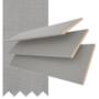 Maine 50 Mid Grey - 50mm Slat Wooden Venetian Blind Shadow Tape