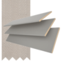 Maine 35 Mid Grey - 35mm Slat Wooden Venetian Blind with Vapour Tape