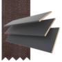 Maine 35 Slate Grey - 35mm Slat Wooden Venetian Blind with Husk Tape