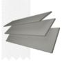 Charisma 35 MG Fine Grain - 35mm Slat Faux Wood Blind Super White Tape