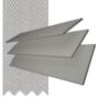 Charisma 35 Mid Grey - 35mm Slat Faux Wood Blind Lunar Tape