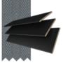 Morgan 35 Black - 35mm Slat Wooden Blind Slate Tape