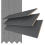 Morgan 35 Dark Grey - 35mm Slat Wooden Blind Gallant Tape